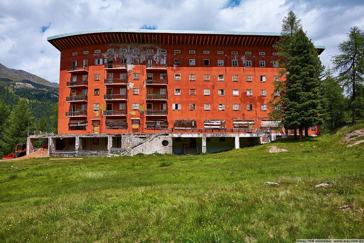 Hotel paradiso di gi ponti in val martello arte e for Piani di progettazione di ponti gratuiti