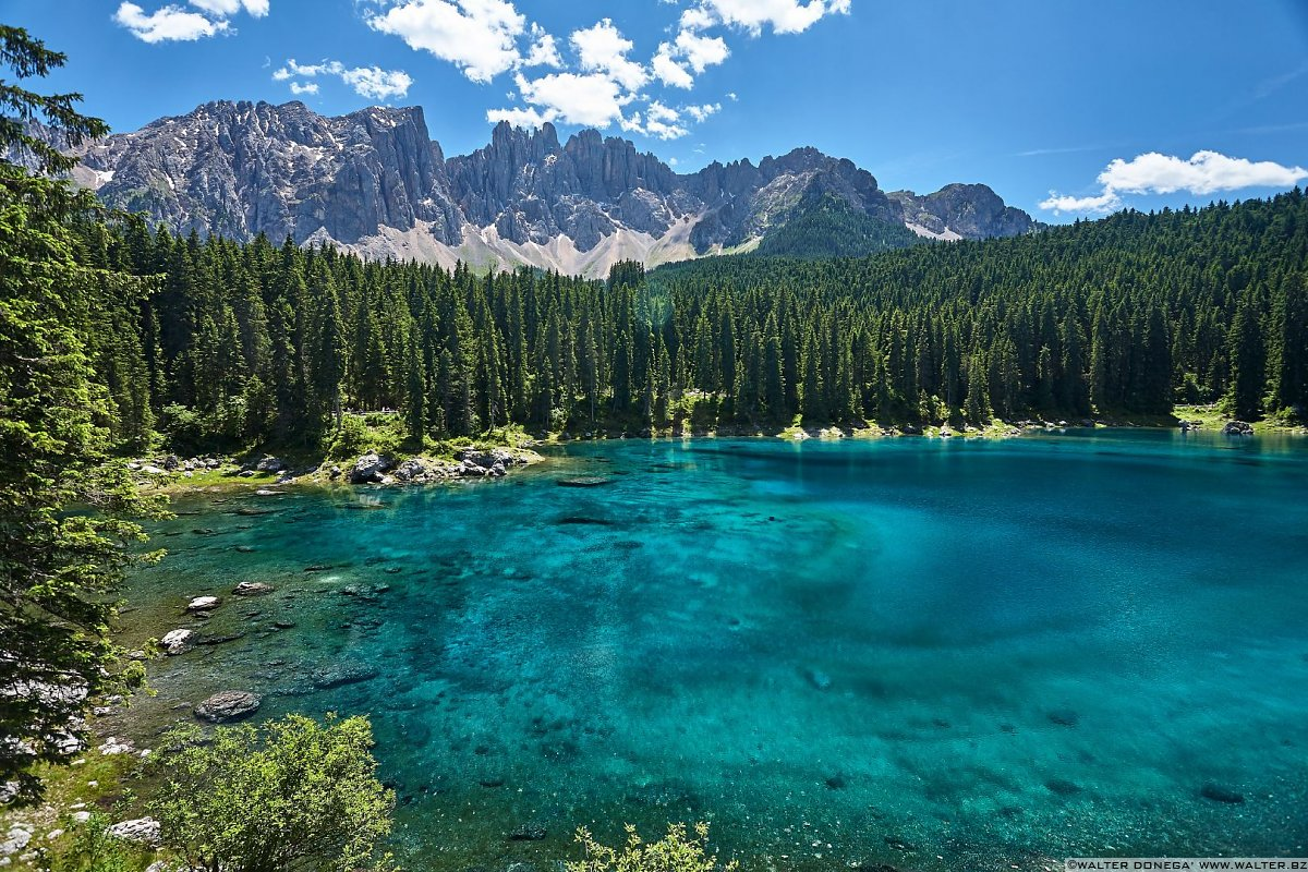 Lago di Carezza in primavera