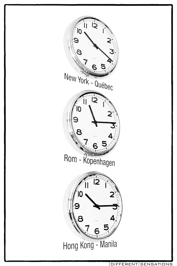 WORLD TIME Serie tre