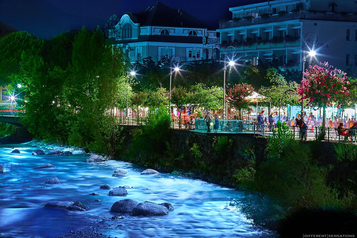 Merano by night